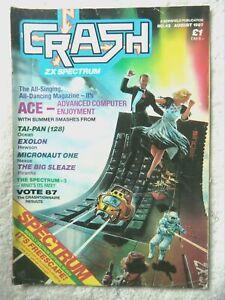 60380 Issue 43 Crash Magazine 1987