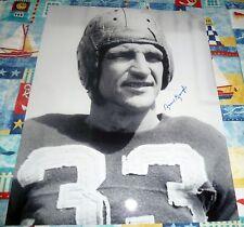 Washington Redskins SAM SAMMY BAUGH autograph signed 16x20 Leather Helmet  photo