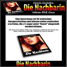 Die Nachbarin (50 erotische Geschichten) - PDF/eBook - PLR-Lizenz