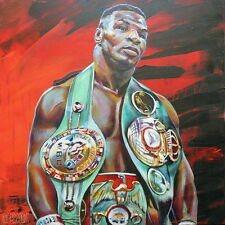 """32 Mike Tyson - American Professional Heavyweight Boxer 24""""x24"""" Poster"""