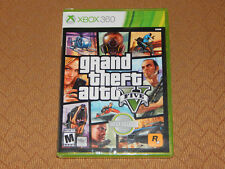 New! Grand Theft Auto V GTA 5 Xbox 360 Free Shipping Rockstar (HDD Required)