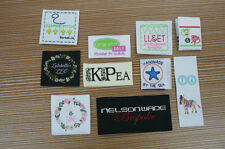 300pcs ( Artwork ) Custom Boutique Woven Clothing Labels ship from Usa