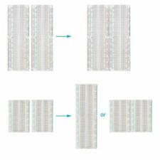4 Breadboard Kit 2pcs 400 Tie Point And 2pcs 830 Points Solderless Power Rails