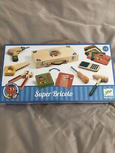 childrens wooden tool set