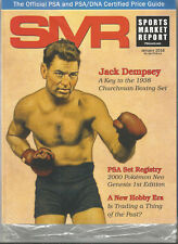 SPORTS MARKET REPORT, PSA PRICE GUIDE, January, 2018 - Jack Dempsey