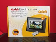 "Kodak EasyShare SV710 7"" Digital Picture Frame EXC COND Missing Software/Manual*"