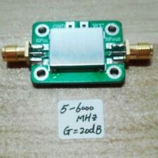 LNA 5M---6GHz Gain:20dB Verstärker RF amplifier FM HF VHF / UHF Ham Radio