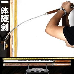 Handmade Chinese Wushu Sword KungFu Broadsword Dao Sharp Manganese Steel Blade