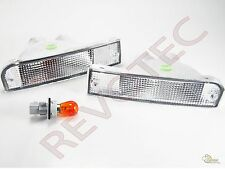 Clear Bumper Signal Lights Lamps RH & LH For 92 93 94 95 Toyota 4Runner