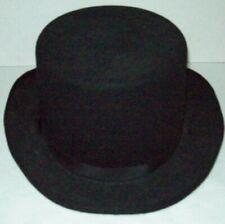 VINTAGE DERBY BOWLER TOP HAT ROSEBUD HAT COMPANY TEXAS 100%  WOOL FELT LARGE