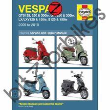 Haynes Motorcycle Manual Vespa GTS GTV S LX125 250 & 300ie(fuel injected)