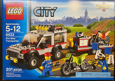 LEGO City (4433) Dirt Bike Transporter ~NISB~ Very Good Condition