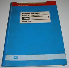 Microfich Audi 100 / 200 Typ 43 Motoren Einspritzer Vergaser 1,6l 1,9l 2,0l 2,2l