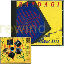 """RANDAGI """"SEISMIC AREA"""" RARO CD 1991"""