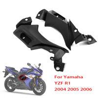 Side Frame Mid Cover Panel Fairing Cowl Kit for Yamaha YZF R1 YZFR1 2004 - 2006