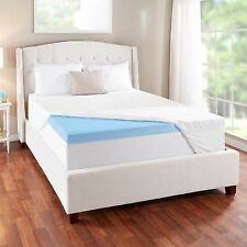 Novaform 3 EVENcor GelPlus Gel Memory Foam Mattress Topper with Cooling Cover