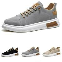 New Mens Trail Walking Sports Lace up Breathable Fashion Sneakers Boards Shoes D