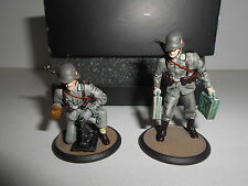GER 147 OBERSCHUTZE 1939 + SCHUTZE 1939 POLEN ATLAS LEAD SOLDIERS 1:32