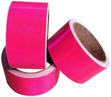 "High Visibilty Intensity Fluorescent Pink 2"" x 25 yrd Reflective Tape"