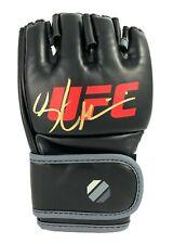 Stipe Miocic Hand Signed UFC Black Glove Autograph 2 COAs JSA Inscriptagraphs