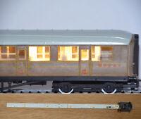 Standard Coach Lighting Strips Warm White - Train Tech CL2 - OO gauge free post
