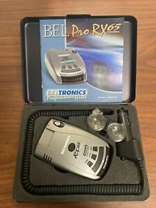 Beltronics RX65 Red Professional Series Radar Laser Detector- Used