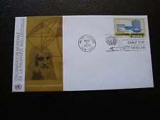 NATIONS-UNIES (new york) - enveloppe 1er jour 11/3/1977 (B7) united nations