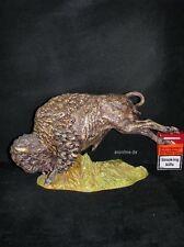 Goebel Porzellan Figur Skrobek Bison, Einzelstück 16-123