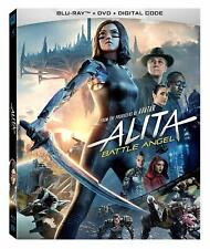 Alita: Battle Angel (Blu-ray + DVD + Digital HD)(slipcase) BRAND NEW SEALED