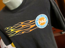 MEDIUM CRACKLE GRAPHIC Dave and Busters Fast Food Restaurant Advertising T-Shirt