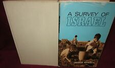 A Survey of Israel ~ George Reinisch. 1971 HbDj.   SIGNED  RARE  in MELB