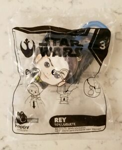 New McDonald's Star Wars Rise of Skywalker Rey Happy Meal Toy #3 2019 In Package