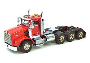 "Kenworth T800W 8x4 Truck Tractor - ""RED"" - 1/50 - WSI"