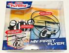 New Little Tikes RC Flyerz My First Flyer Remote Control Black Police Helicopter