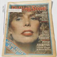 JONI MITCHELL ROLLING STONE MAGAZINE ISSUE 296 PETER FRAMPTON JULY 26 1979