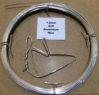 1.6mm x 10m 16 SWG SOFT Aluminium Wire Armature Craft Jewellery Model Sculpting
