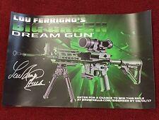 "Lou Ferrigno - ""Big Green Dream Gun"" Brownells signed poster"