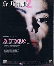Le monde suppl #18357 01/02/2004 Michael Jackson Loch Ness Columbia Abbé Pierre