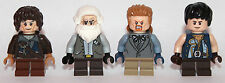LEGO hobbit Lord of The Ring - 4 SHIRE CITIZENS hobbit - custom - ONLY LEGO