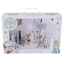 Beatrix Potter Peter Rabbit Musical Cot Mobile Universal Fit 0mth+ FAST DISPATCH