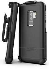Galaxy S9 Plus Commuter Case and Holster Kickstand Tough Protective Holder