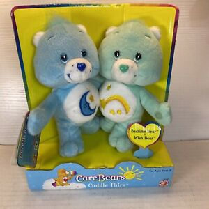 Care Bears Cuddle Pairs Bedtime & Wish Bear New 2002