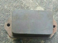 Dennis Dart front bump stop, part number 656165