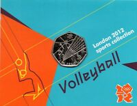 Royal Mint London 2012 Olympic 50p Sport Completer Medallion full set 30 coins