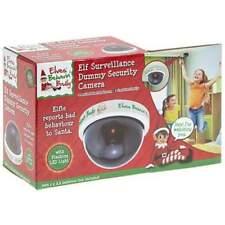 Elf Surveillance Dummy CCTV Camera Christmas With LED Light BULK BUY
