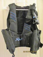 SeaQuest Scuba Diving Buoyancy Vest Size Large – With Carry Bag - Good Condition