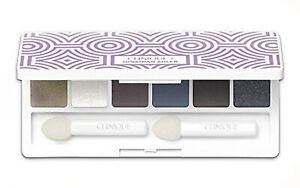 Clinique All About Shadow 6-Pan Eyeshadow Palette Jonathan Adler 0.12 oz/3.6g
