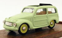 Brumm 1/43 Scale Diecast Model Car R56 - Fiat 500 - Light Green