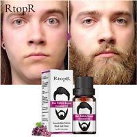 Men Beard Moustache Essential Oil Moisturizing Fast Growth Nourishing Oil zf5Y