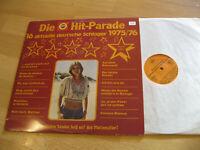 LP Die Hit Parade Deutsche Schlager 1975 /76 Septemberwind  Vinyl Tempo LP 5028